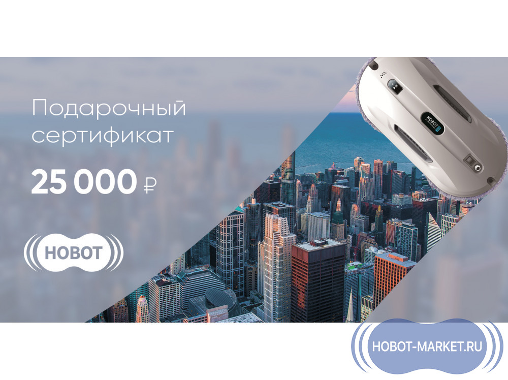 25000 руб.  в фирменном магазине Hobot